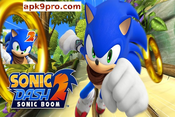 Sonic Dash 2 Sonic Boom v2.2.2 Apk + Mod (File size 62 MB) for android