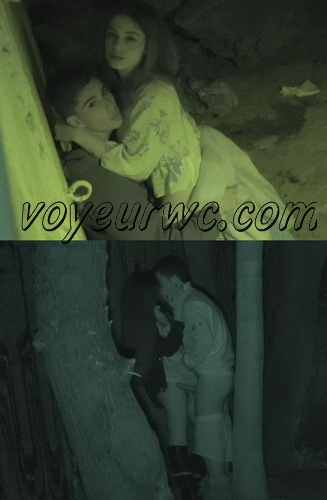 Couple Having Sex in Public on Street Hidden Cam (Galician Night Sex 191-192)