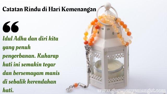 Catatan Rindu di Hari Kemenangan Idul Adha