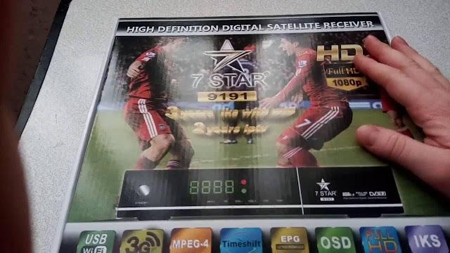 الجهاز الجديد 7star 9191 hd