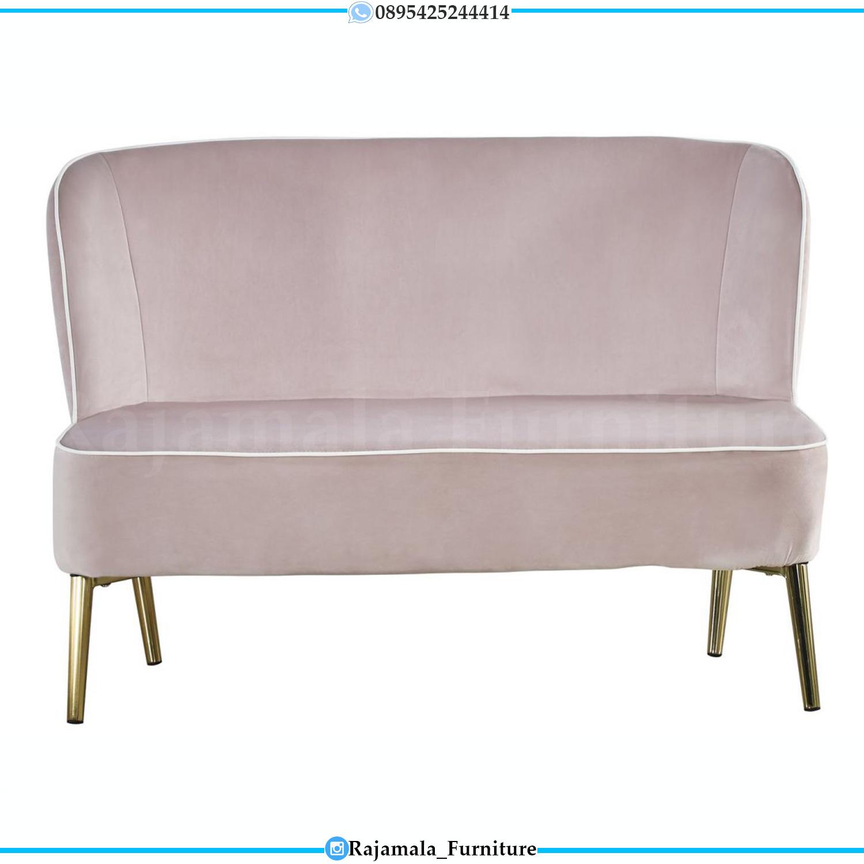 Sofa Malas Minimalis Luxury Industrial Stainless Steel Furniture Jepara RM-0188