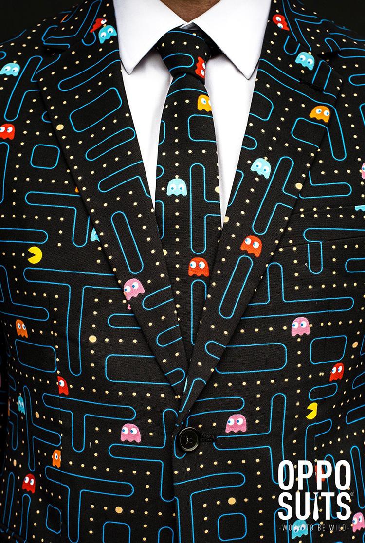 OppoSuits разработала дизайн костюма Pac-Man
