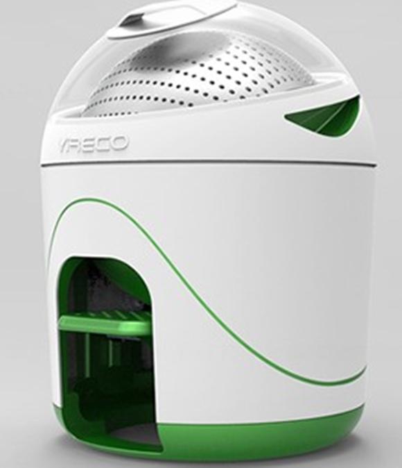 Máquina de lavar roupa sem eletricidade