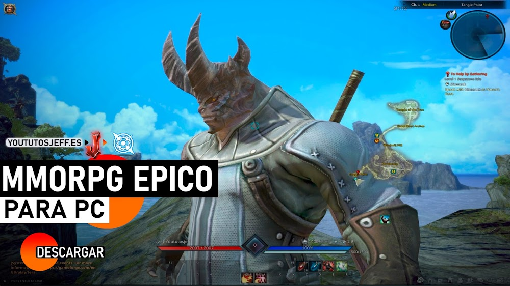 Descargar TERA para PC, MMORPG GRATIS Y EPICO