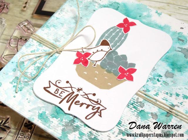 Dana Warren - Kraft Paper Stamps - Pinkfresh Studio