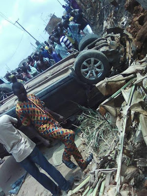 Photos: Pregnant Woman Dies In Fatal Accident At Obadore3