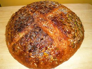 pan con 7 cereales y semillas dakota bread semillas calabaza girasol receta gastronomia panaderia hogaza pan americano