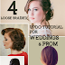 Loose Braided Updo Tutorial For  Weddings & Prom