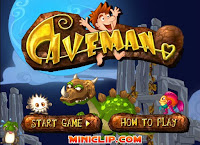 Here is #Caveman by #Miniclip! #SummerGames #ValentinesGames