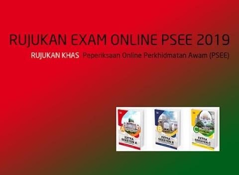 Rujukan Peperiksaan Online Perkhidmatan Awam (PSEE)