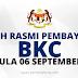 Perdana Menteri Umum Tarikh Bayaran BKC Bermula Pada 06 September ini.