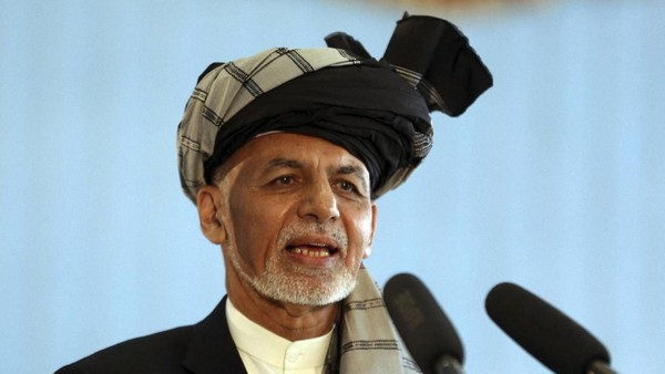 Taliban Masuki Kabul, Presiden Ashraf Ghani Tinggalkan Afghanistan