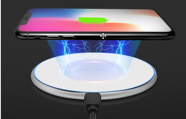Universal Qi  mobile wireless charger