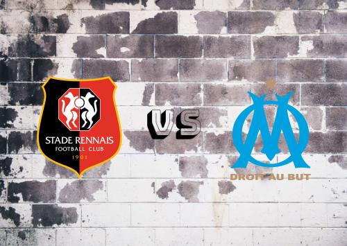 Rennes vs Olympique Marseille  Resumen