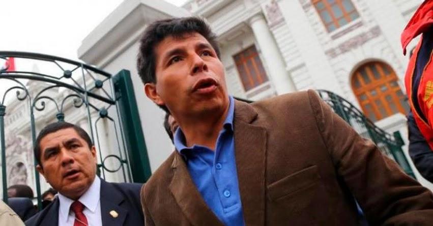 Pedro Castillo confirma que regresarán a las calles este Lunes 18 Junio para una huelga indefinida