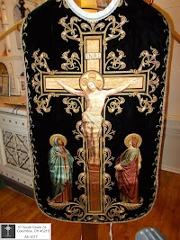 Two More Black Chasubles for the Month of the Holy Souls