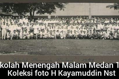 SEKOLAH MENENGAH MALAM MEDAN 1949