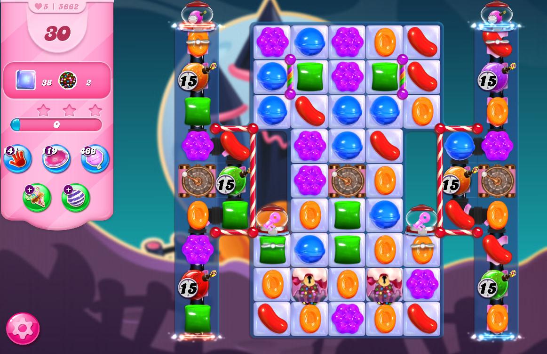 Candy Crush Saga level 5662