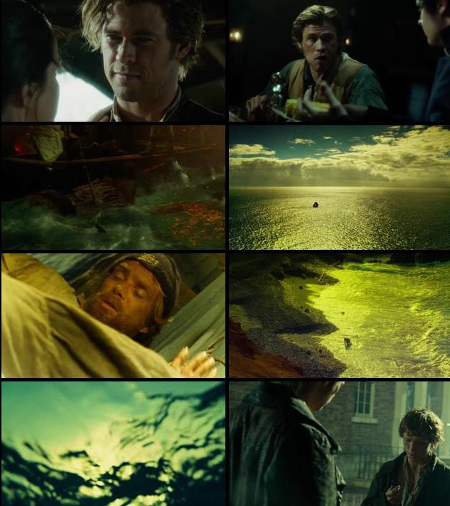 In The Heart of The Sea 2015 English 480p BRRip 300mb ESubs