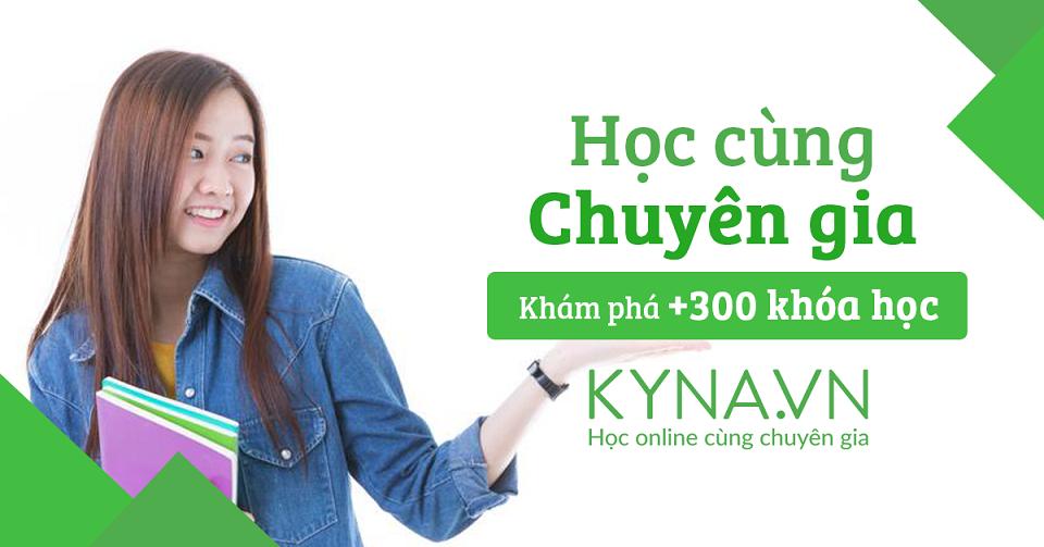 Kyna - Học cùng chuyên gia