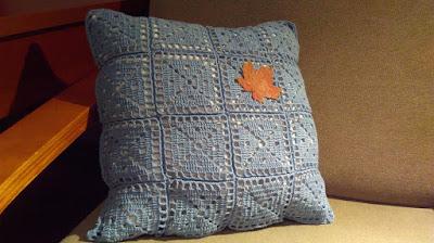 wzór na poduszkę z kwadratów
