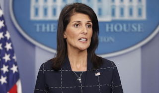 Trump Believes 'Climate Is Changing,' U.N. Ambassador Haley Says