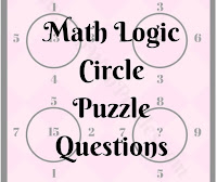 Math Logic Circle Puzzle Questions for School Students