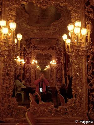 Interno della Loggia Imperiale del Teatro la Fenice
