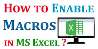 How To Enable Macros in Microsoft Excel Step by Step?