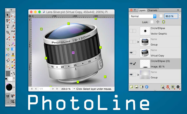 تحميل برنامج PhotoLine لتعديل الصور