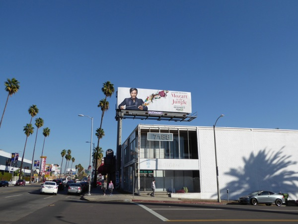 Mozart in the Jungle season 3 billboard