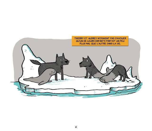Loup-phoque de Davy Mourier planche 2