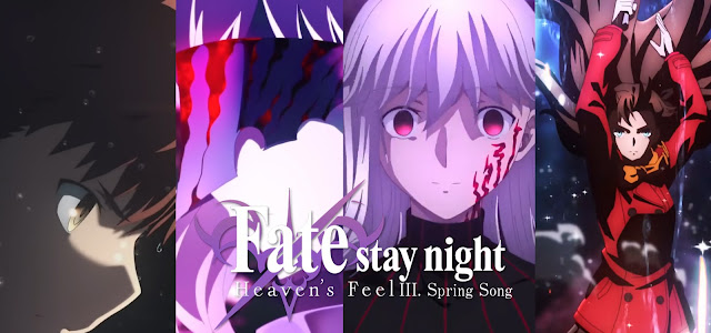 Fate Stay Night Heavens Fate Feel 3: Spring Song