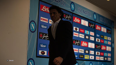 PES 2020 Press Room SSC Napoli by Ivankr Pulquero