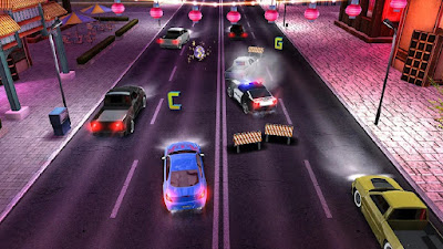 Road Racing Highway Car Chase Game Screenshot 5