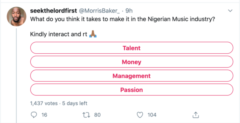 """Nigerians Share What It Takes To """"Blow' In The Nigerian Music Industry? #Arewapublisize"""