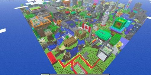 Minecraft có nhiều yếu tố trong vòng game Play vay mượn từ các cách thức đi trước nó
