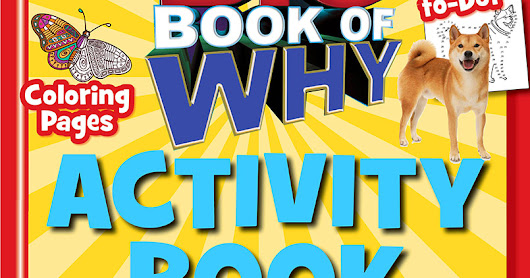 Big Book of WHY Activity Book (A TIME For Kids Book) #giveaway