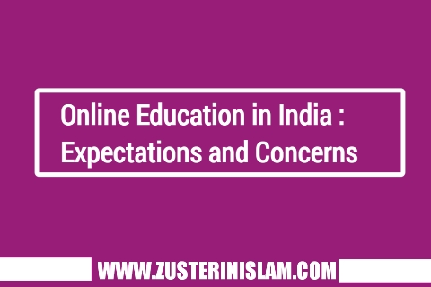Online Education in India : Expectations and Concerns