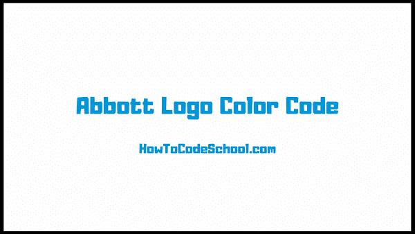 Abbott Logo Color Code