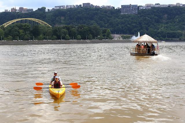 River Kayaks in Pittsburgh