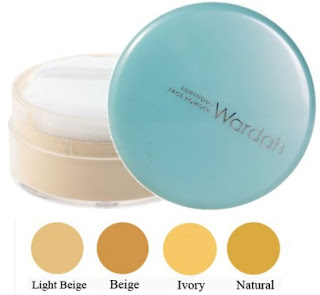 Bedak tabur Wardah Luminous Face Powder