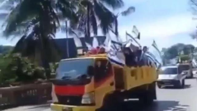 Diduga OPM, Ratusan Orang Terobos Jayapura Kibarkan Bendera Israel