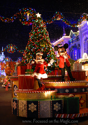Mickey's Once Upon A Christmastime Parade, MVMCP