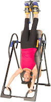 Exerpeutic 975SL Inversion Table - up to full 180 degrees inverting angle, image