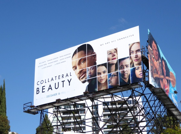 Collateral Beauty film billboard