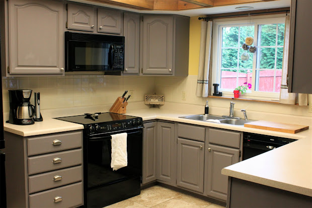 Gray Painted Kitchen Cabinets Color