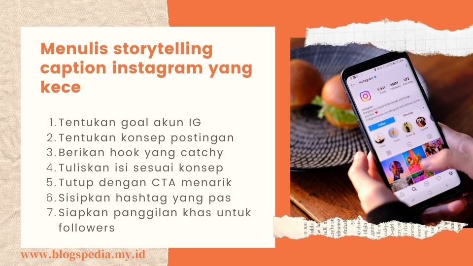 tips menulis caption
