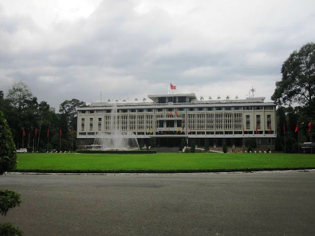 The Reunification Palace Ho Chi Minh Vietnam