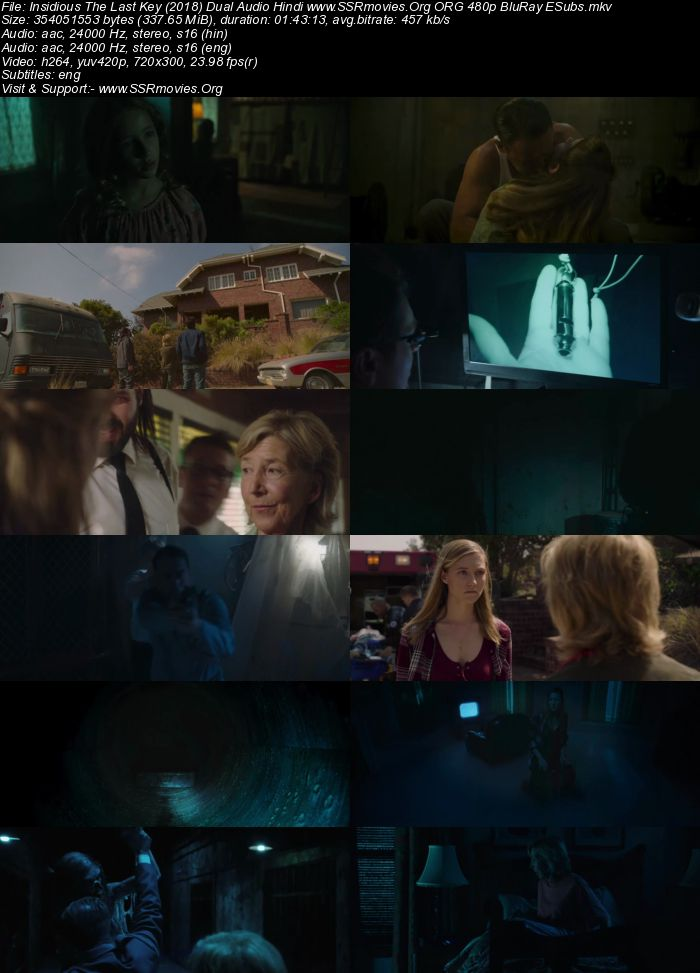 Insidious The Last Key (2018) Dual Audio Hindi ORG 480p BluRay